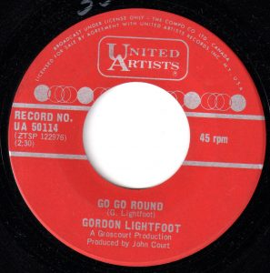 Gordon Lightfoot - Go Go Round 45 (UA Canada).jpg
