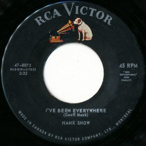 Hank Snow - I've Been Everywhere 45 (RCA Victor Canada).jpg
