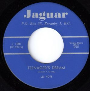 Les Vote - Teenager's Dream 45 (Jaguar Canada).jpg