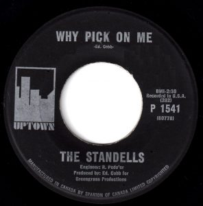 Standells - Why Pick On Me 45 (Uptown Canada).jpg
