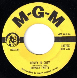Conway Twitty - Cumfy 'N Cozy 45 (MGM Canada).jpg