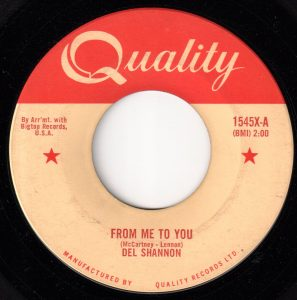 Del Shannon - From Me To You 45 (Quality).jpg