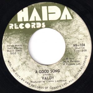 Valdy - A Good Song 45 (Haida Canada).jpg