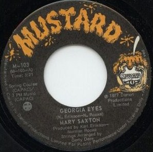 Mary Saxton - Georgia Eyes 45 (Mustard Canada).JPG