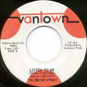 One Way Street - Listen To Me 45 (Vantown).jpg