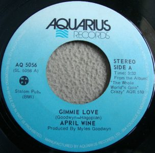 Gimmie Love by April Wine