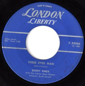 Three Eyed Man by Buddy Knox