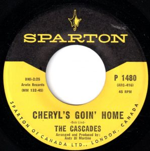 Cheryl's Goin' Home by The Cascades