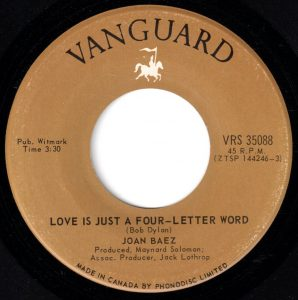 Joan Baez - Love Is Just A Four Letter Word 45 (Vanguard Canada).jpg