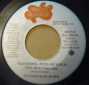 Studebaker Hawk - Rainbows, Pots Of Gold And Moonbeams 45 (Smile Can.).jpg