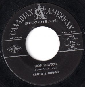 Santo & Johnny - Hop Scotch 45 (Canadian American).jpg