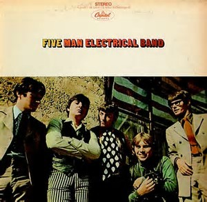 I'm A Stranger Here by the Five Man Electrical Band