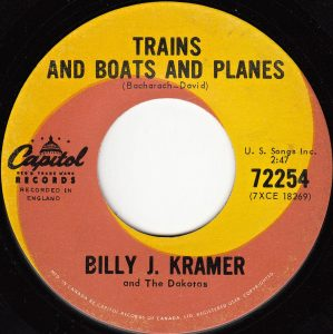 Trains And Boats And Planes by Billy J. Kramer and The Dakotas
