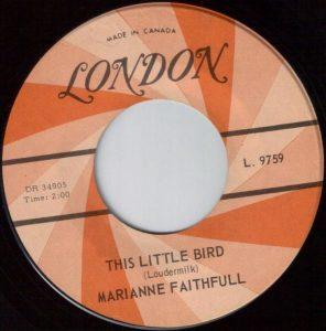 This Little Bird by Marianne Faithfull