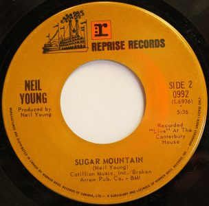 Sugar Mountain/When You Dance I Can Really Love - Neil Young