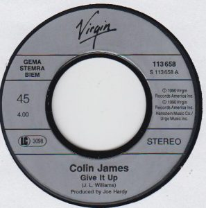 Give It Up ~ Colin James & Bonnie Rait