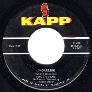 D-Darling by Paul Evans