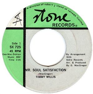 Mr. Soul Satisfaction by Timmy Willis
