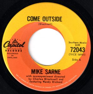 Come Outside by Mike Sarne