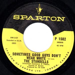 Sometimes Good Guys Don't Wear White by The Standells