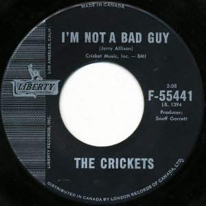 I'm Not A Bad Guy by The Crickets