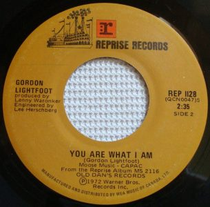 You Are What I Am by Gordon Lightfoot