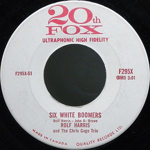 Six White Boomers by Rolf Harris