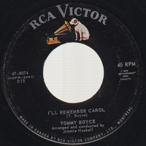 I'll Remember Carol by Tommy Boyce