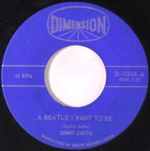 A Beatle I Want To Be by Sonny Curtis
