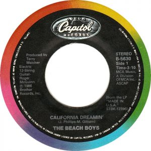California Dreamin' by The Beach Boys