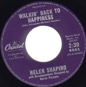 Walkin' Back To Happiness by Helen Shapiro