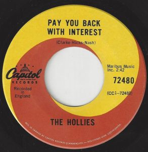 Pay You Back With Interest by The Hollies