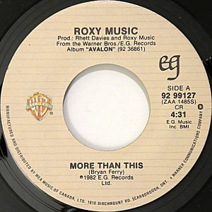 More Than This by Roxy Music