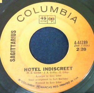 Hotel Indiscreet by Sagittarius