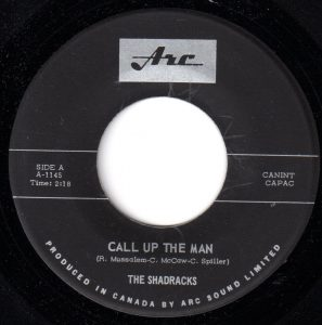 Call Up The Man by The Shadracks