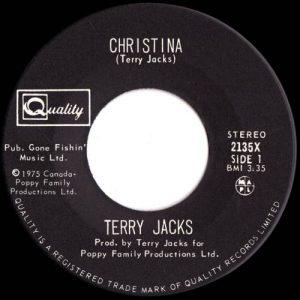 Christina by Terry Jacks