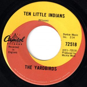 Ten Little Indians by The Yardbirds