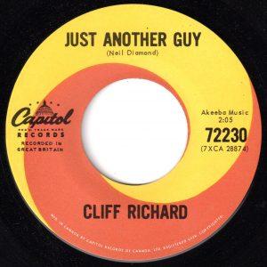 Just Another Guy/The Minute You're Gone by Cliff Richard