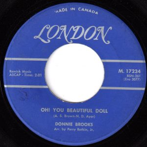 Oh You Beautiful Doll by Donnie Brooks