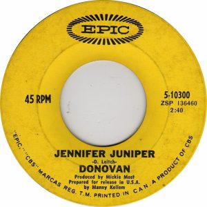 Jennifer Juniper by Donovan