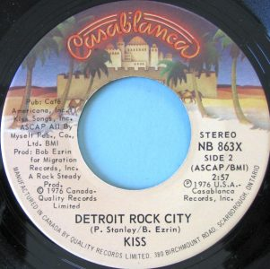 Detroit Rock City by KISS