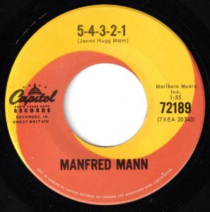 5-4-3-2-1 by Manfred Mann