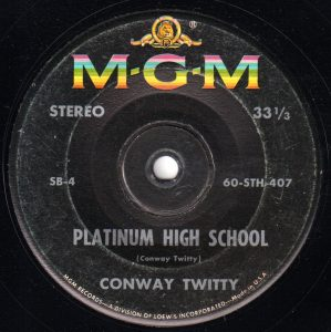 Platinum High School by Conway Twitty