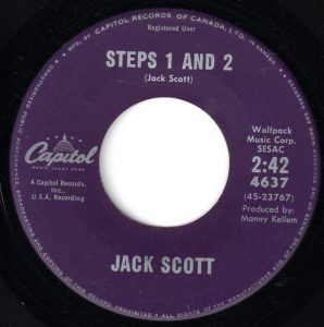 Steps 1 And 2 by Jack Scott