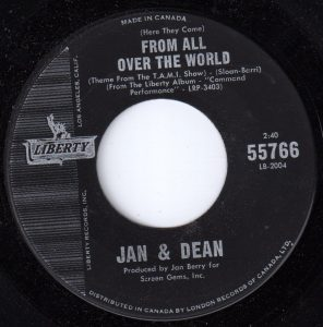From All Over The World by Jan & Dean
