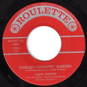 English Country Garden by Jimmie Rodgers