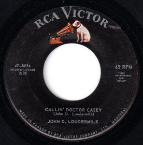 Calling Dr. Casey by John D. Loudermilk