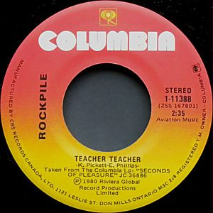 Teacher Teacher by Rockpile
