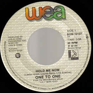 Hold Me Now by One To One