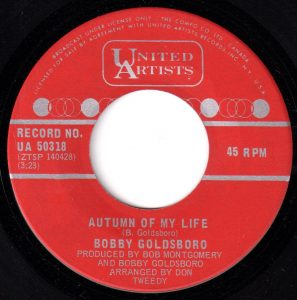 Autumn Of My Life by Bobby Goldsboro